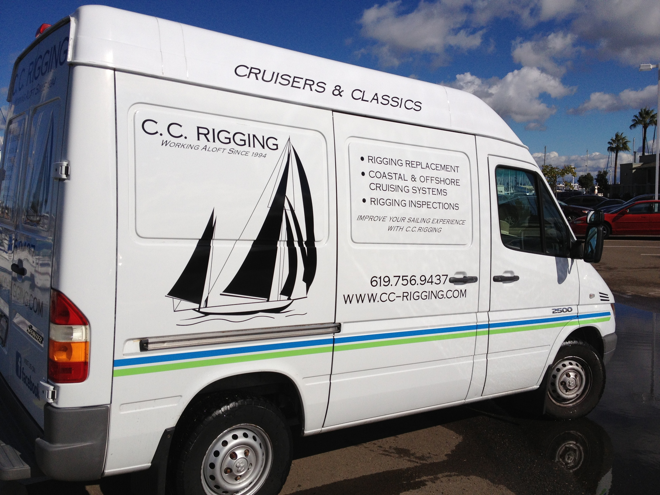 Mobile Rigging Van