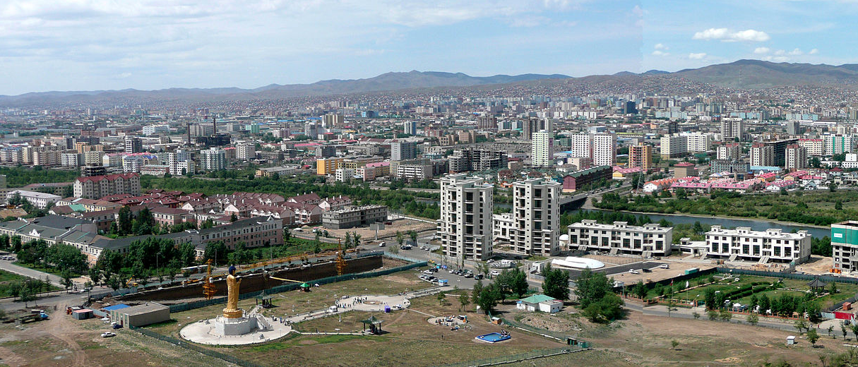 Unlaanbaatar, capital city of Mongolia. (photo credit: Wikipedia)