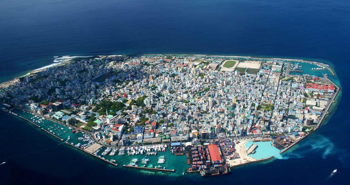 Male, the capital city of Maldives. (Photo Credit: RemoteLands.com)