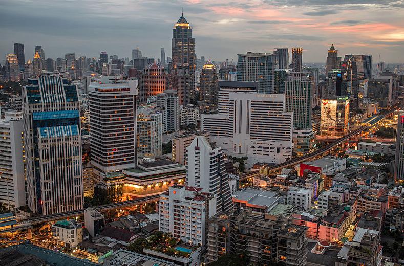 Bangkok, capital of Thailand (photo credit: davemweber)