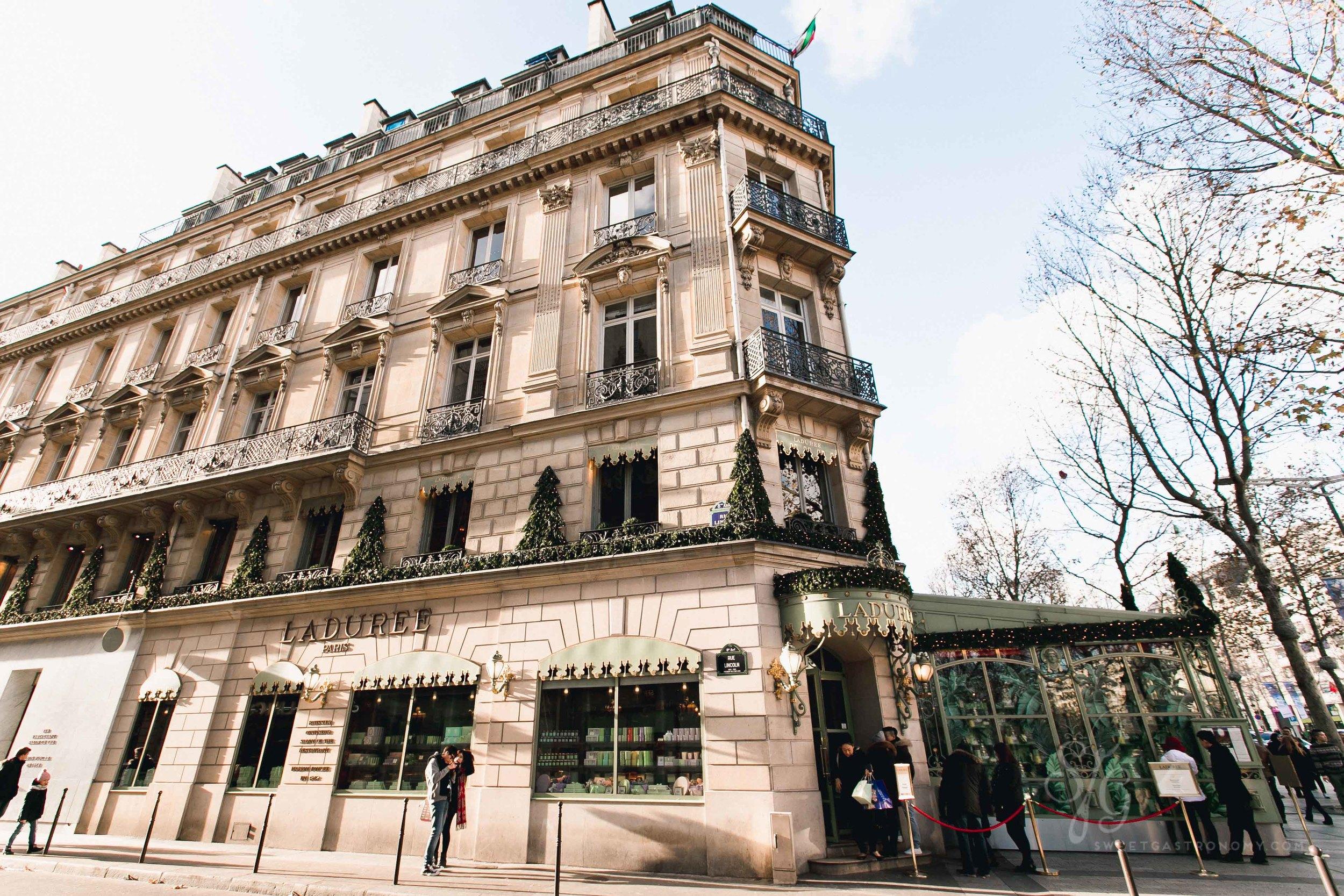 Ladurée on the Champs-Élysées