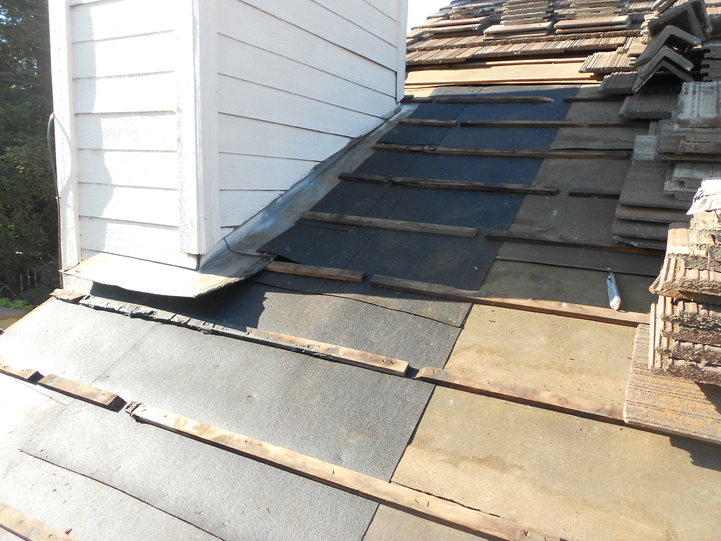 Roof Repair by Ved's Roofing of Yuba City, CA