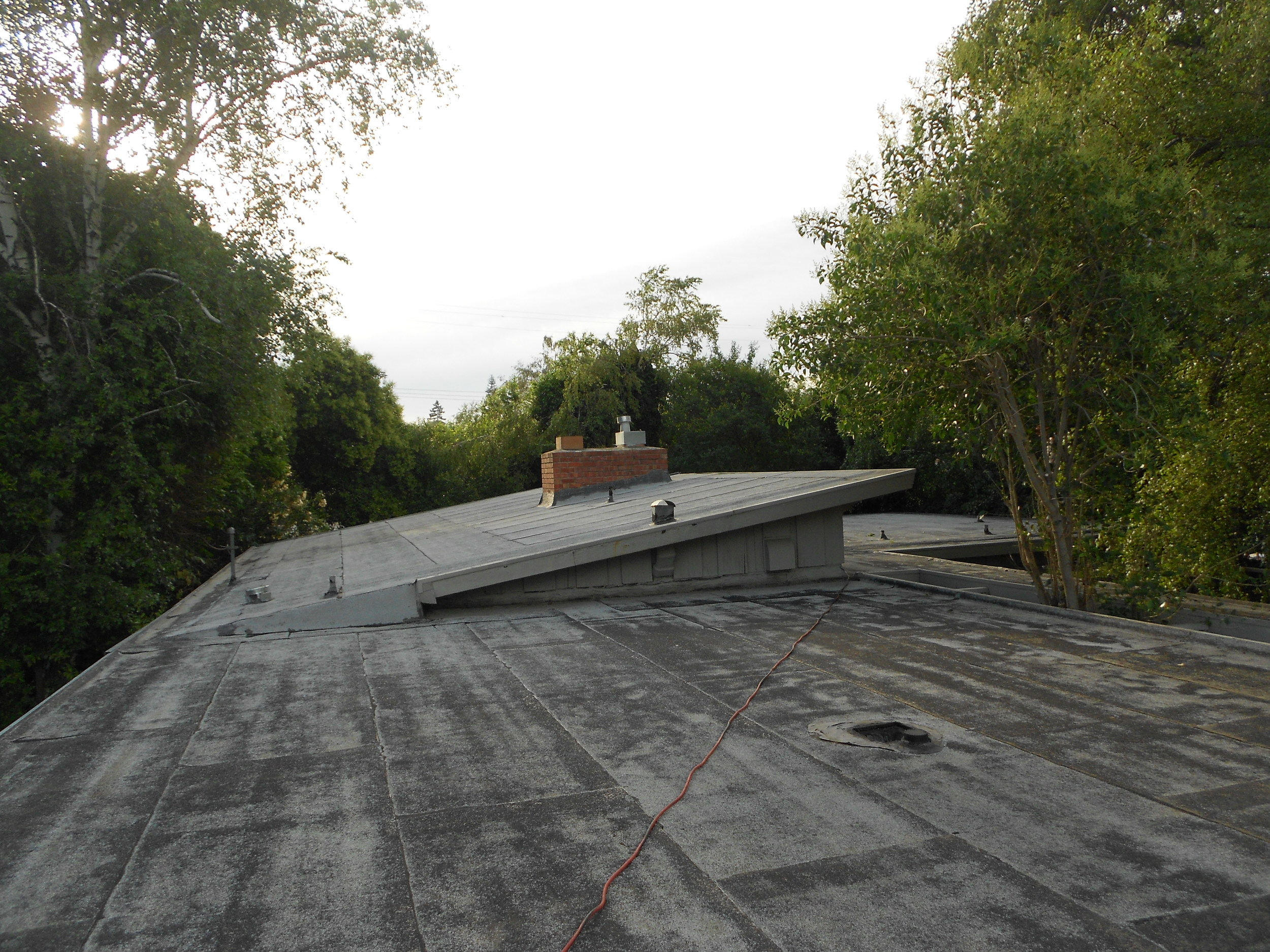Completed Foam & Coatings Project by Ved's Roofing of Yuba City, CA.
