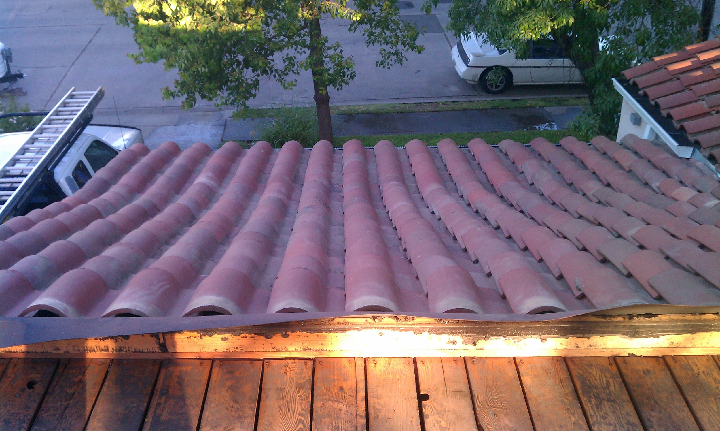 Completed Tile Roofing Project by Ved's Roofing of Yuba City, CA.