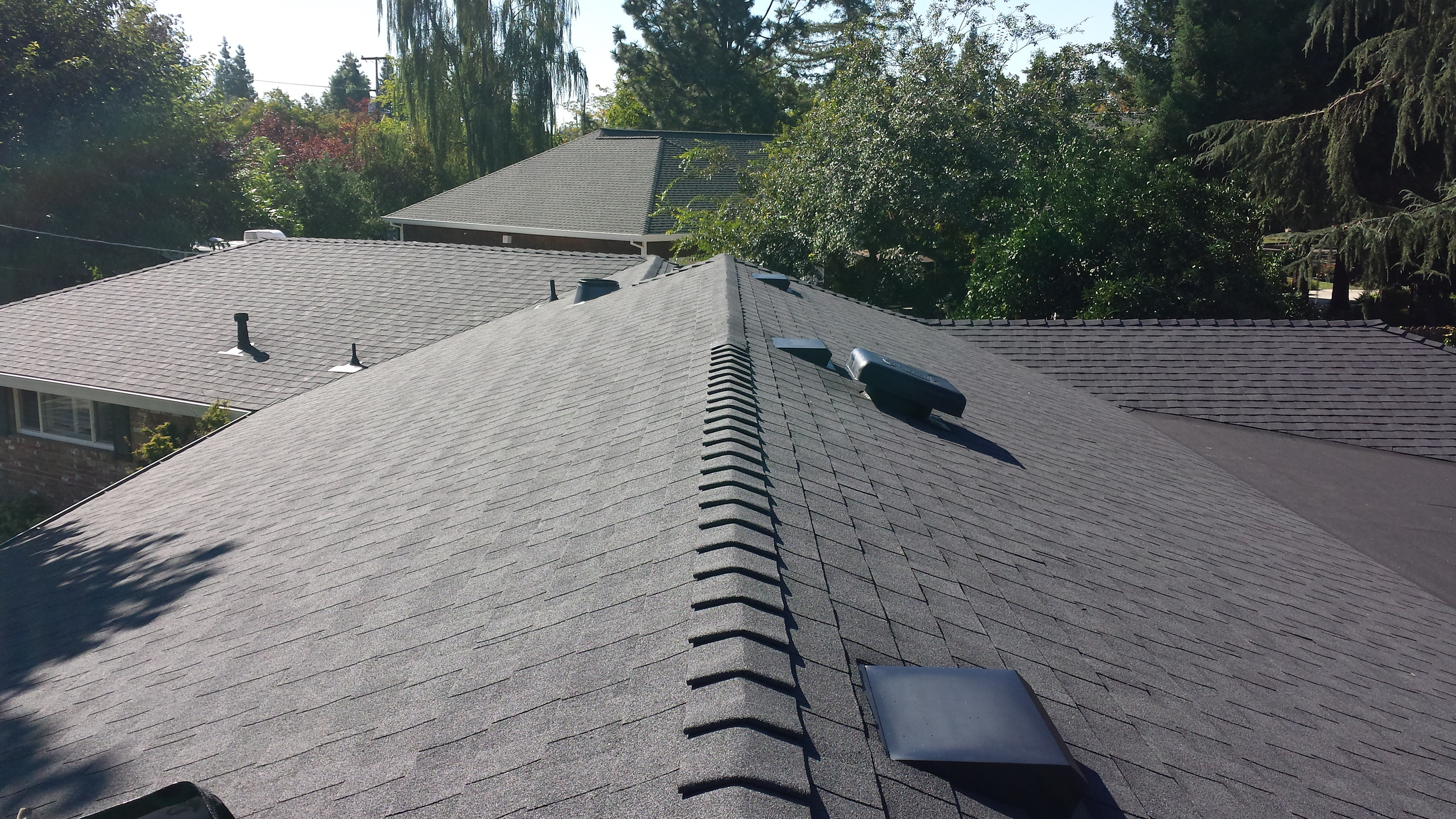 New Roof Commposition Installation