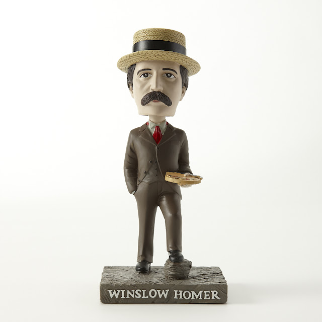 Winslow Homer, in all his glory. Photo by Zack Bowen.