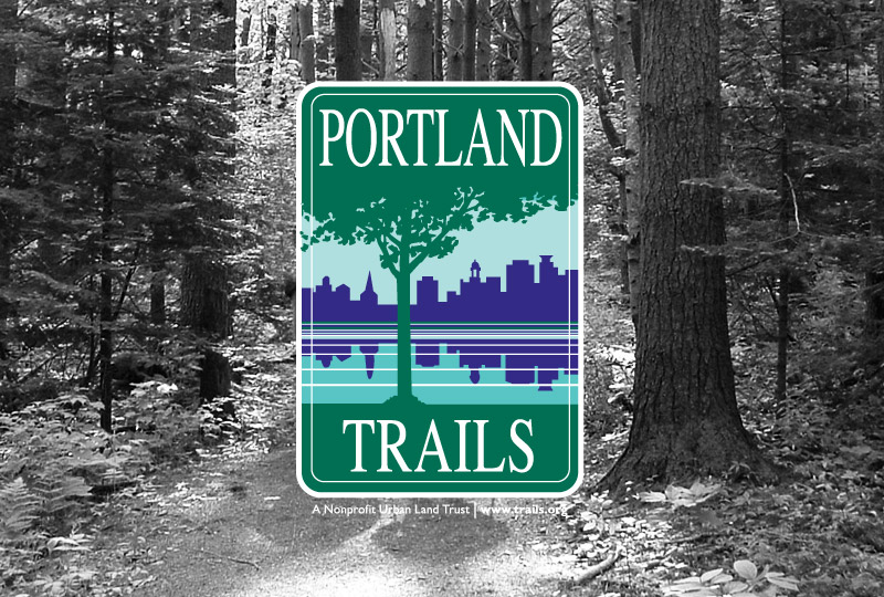 Portland Trials kiosk and collateral design by brand design firm Might & Main