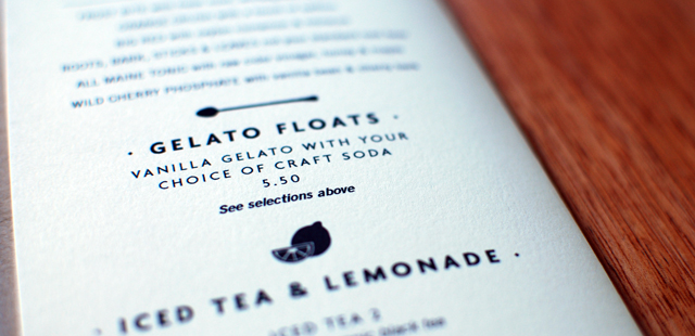 Redesigned menus with custom icons set a playful tone.