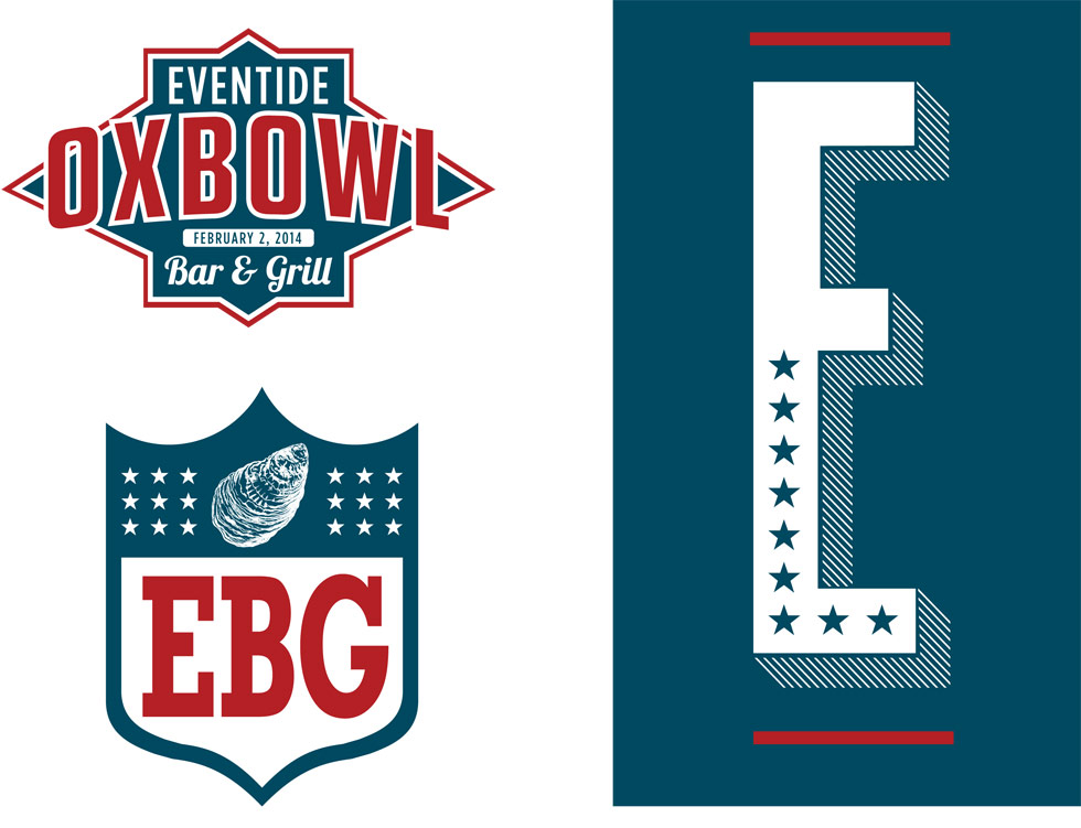 NFL-esque shields, a star studded Eventide E, and a custom Oxbowl logo were certainly in order.