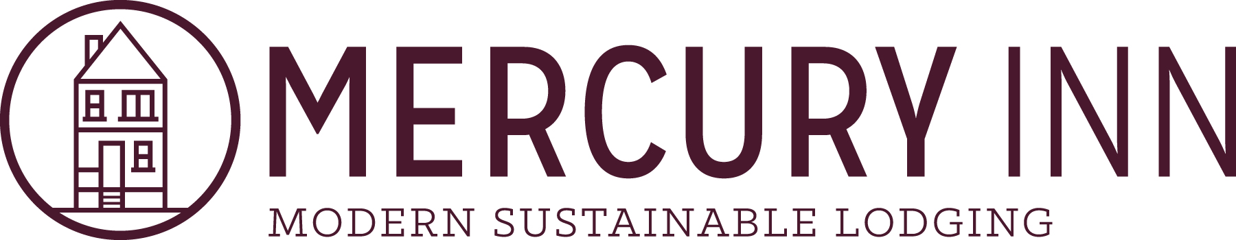 Mercury Inn brand identity and logo by Might & Main