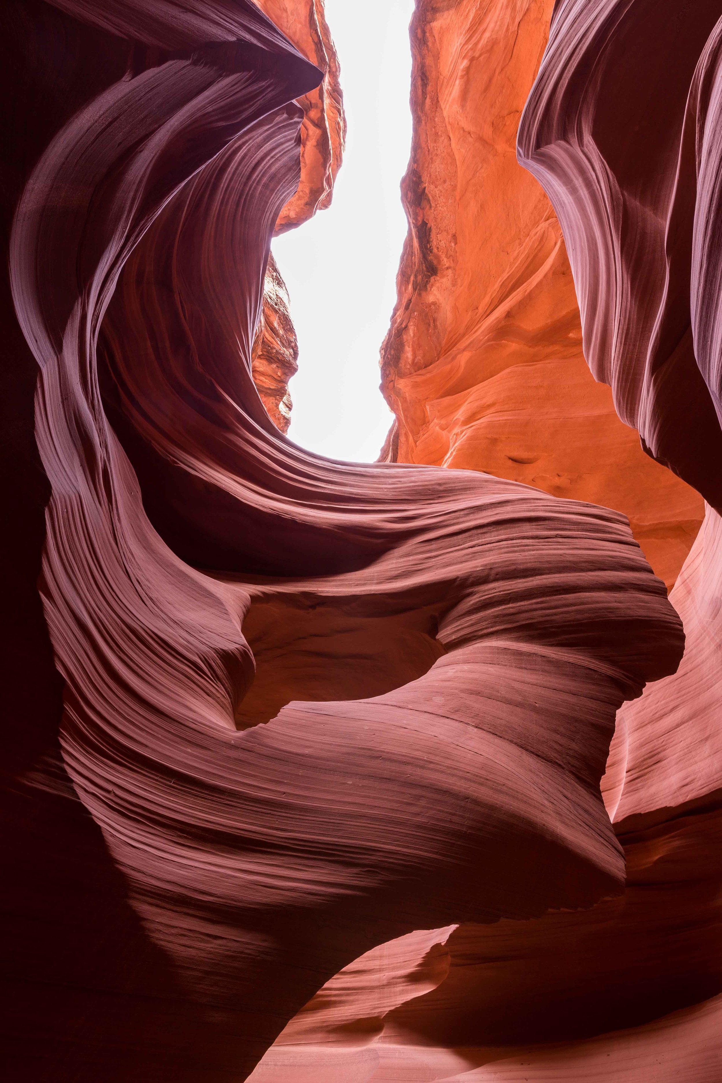 Women in the Wind in Antelope Canyon