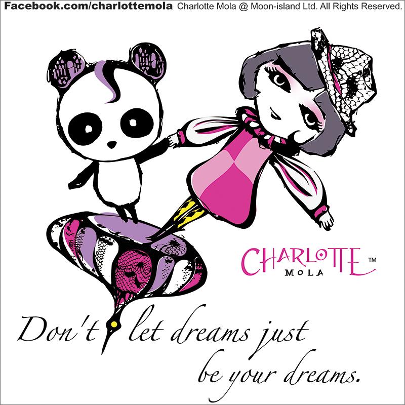 "#0020, panda, don't let dreams just be your dreams  [每個夢想落地,都是落在陀螺上]   喜歡""創動力媒體""形容我所做的為把夢想""落地""。其實  無論那個夢想落地,都一定不是落在平地上,大多都是落在  陀螺上,要我們在上面不斷的努力平衡,陀螺上的東西才不  會掉下來。   夢想不只想,努力把腦袋中的想像移到陀螺上去吧!  Don't let dreams just be your dreams。"
