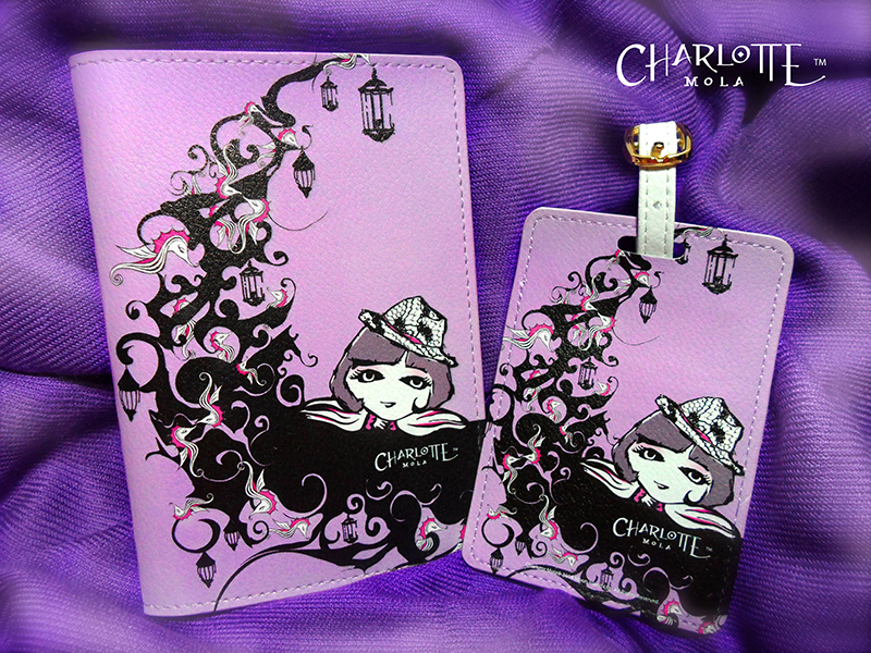 Travel Set: Passport cover + Baggage Tag,  Welcome small order