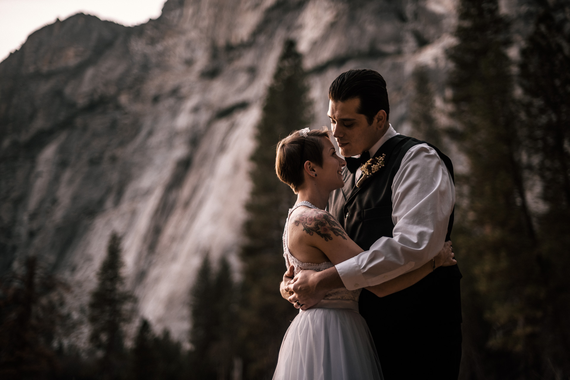 elopement photography in yosemite national park