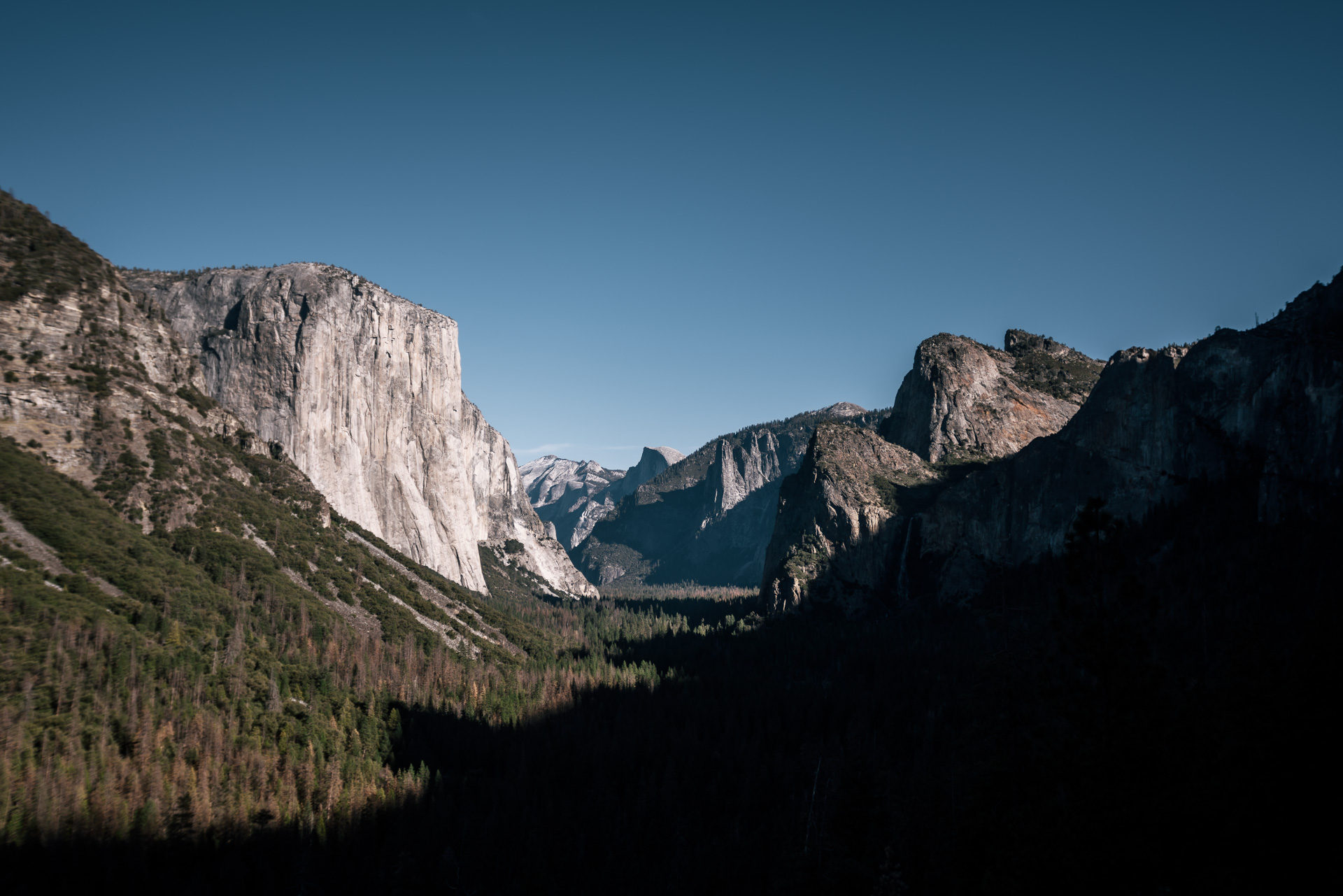 Tunnel View, Yosemite national park elopement photographer