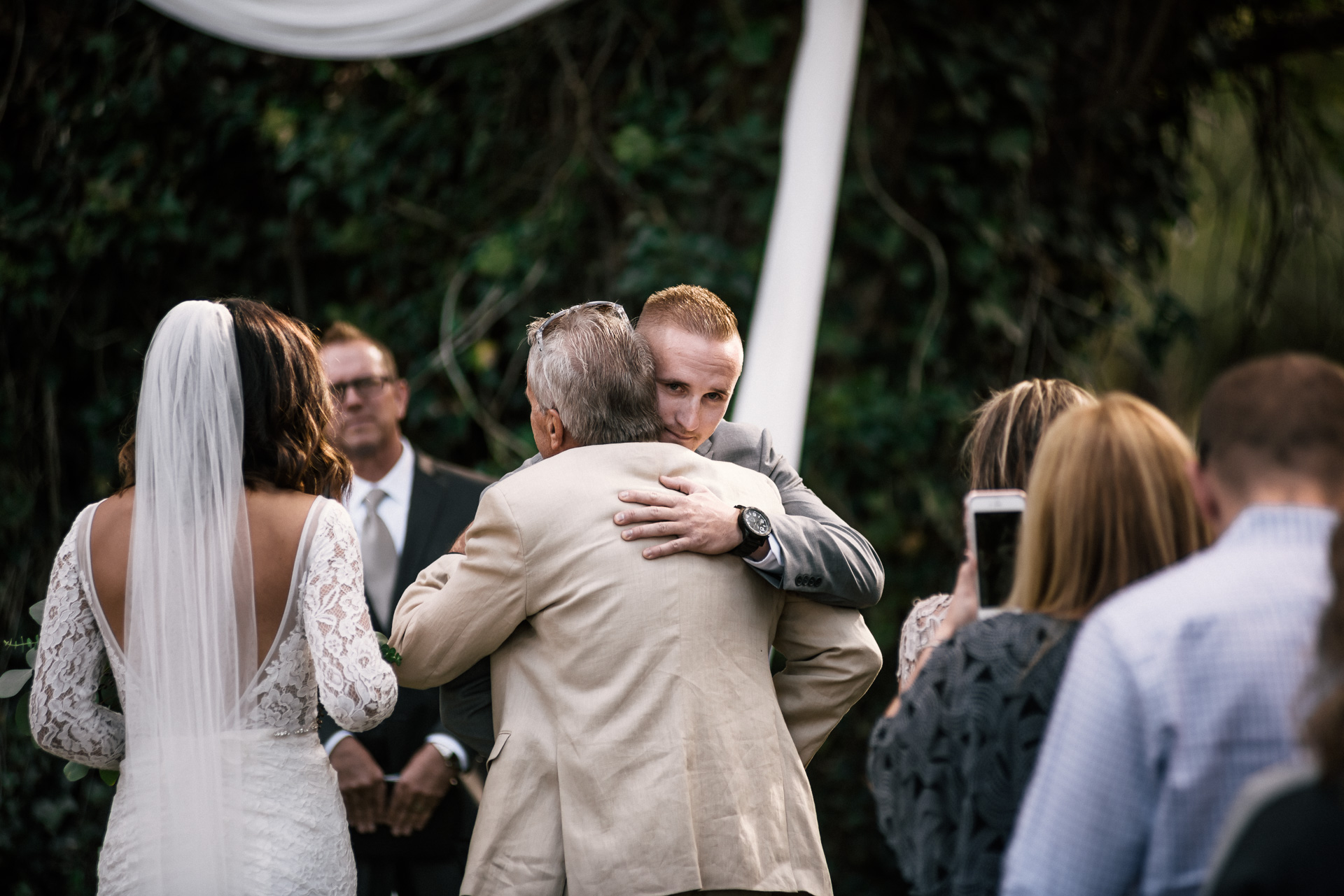 groom overcome with joy at rustic pymm ranch wedding venue in winchester california