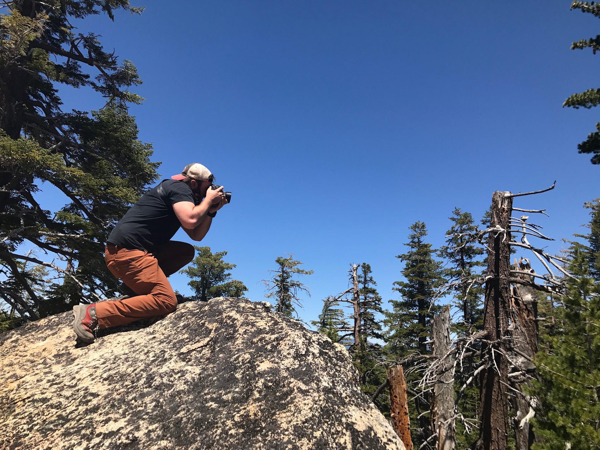 Photographing Lake Tahoe
