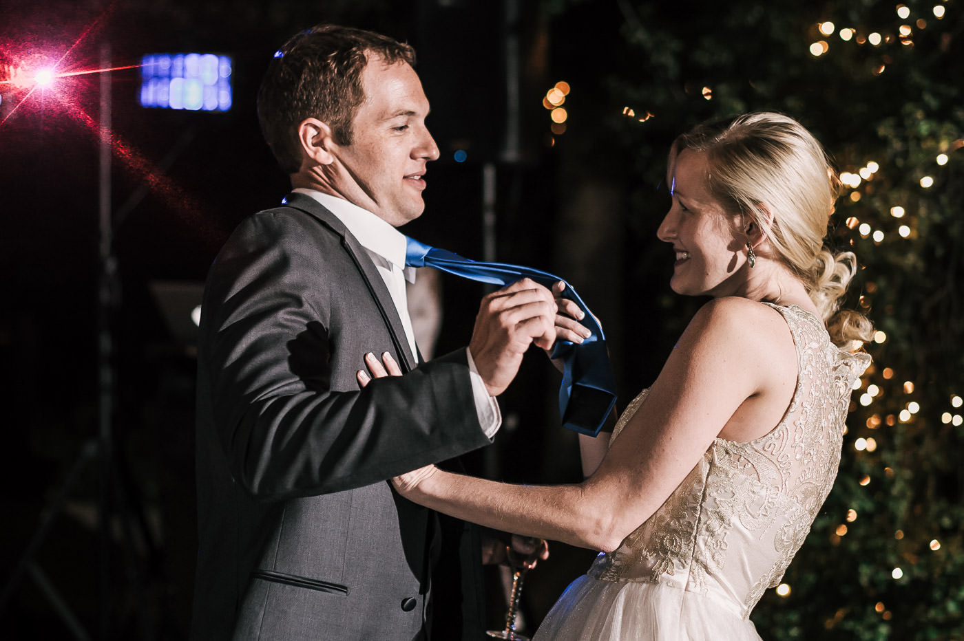 bride and groom have a blast dancing during the reception at their whispering oaks terrace wedding in temecula