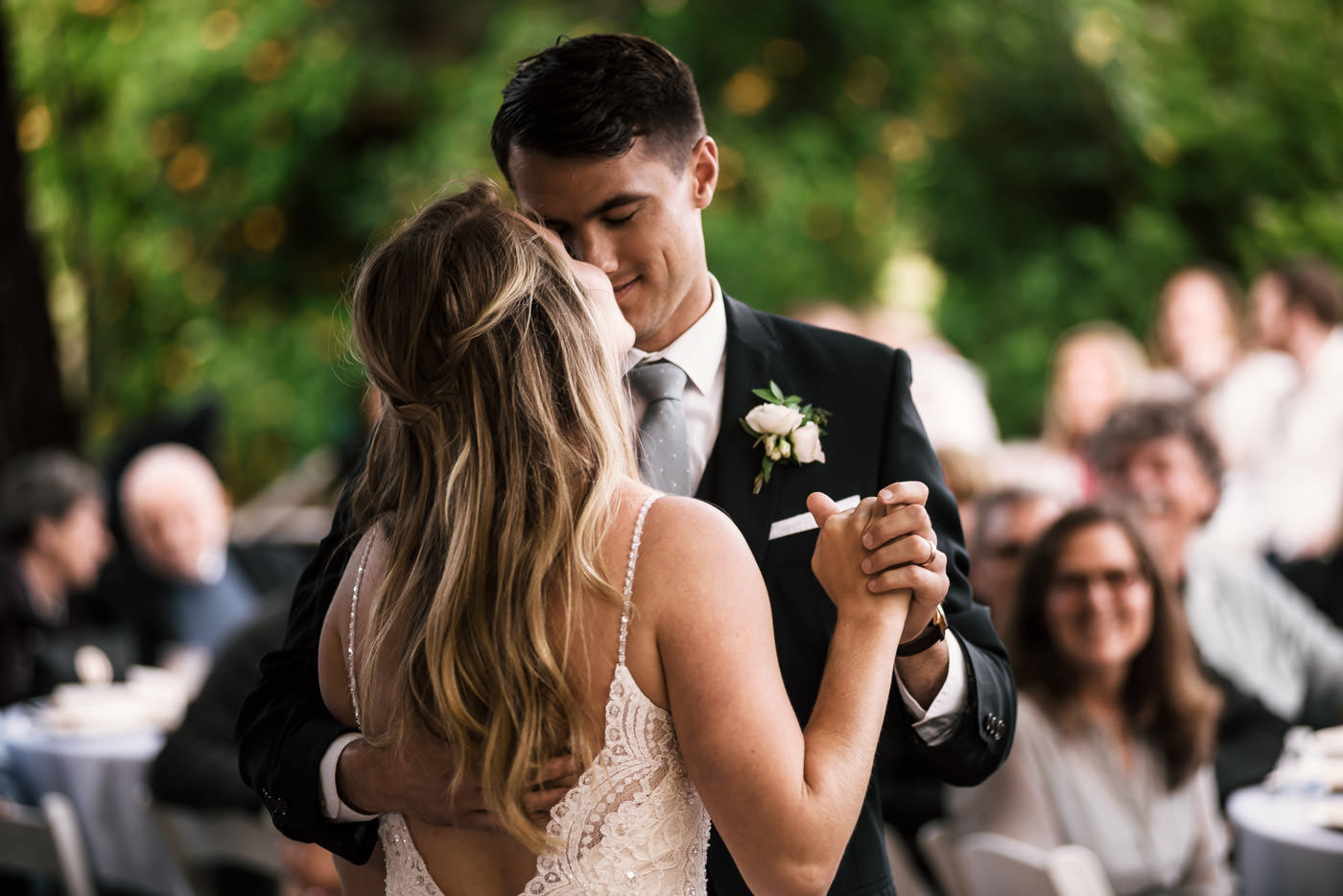 This first dance was just overflowing with romance and was the cherry on top after such a beautiful Temecula Wedding.