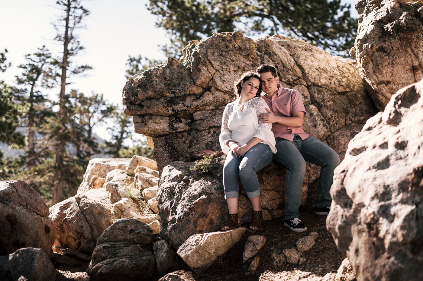 Mt San Jacinto is one of my favorite locations for engagement photography in southern California.