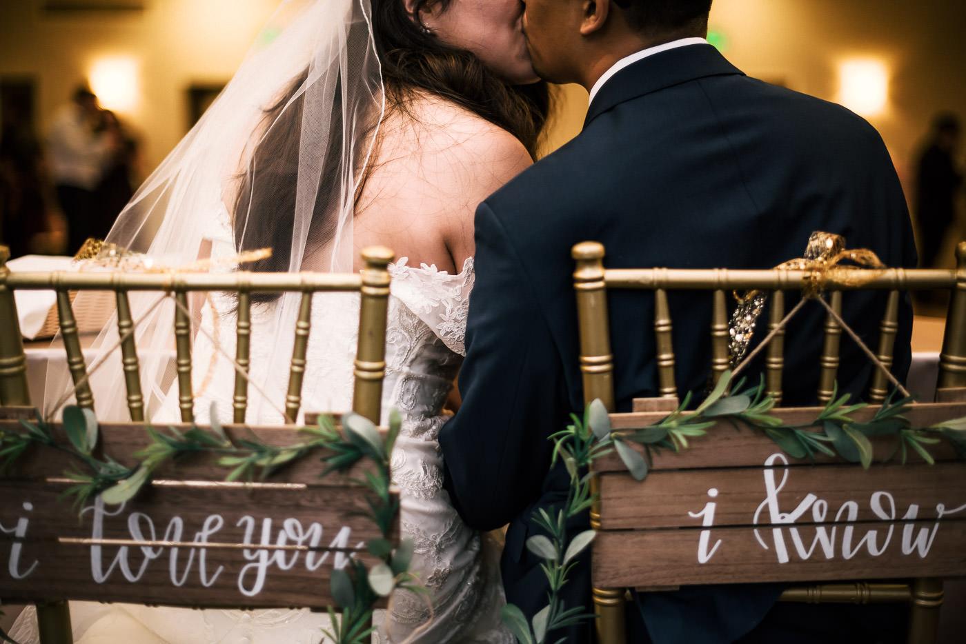 I love you. I know. amazing Star Wars wedding ideas.