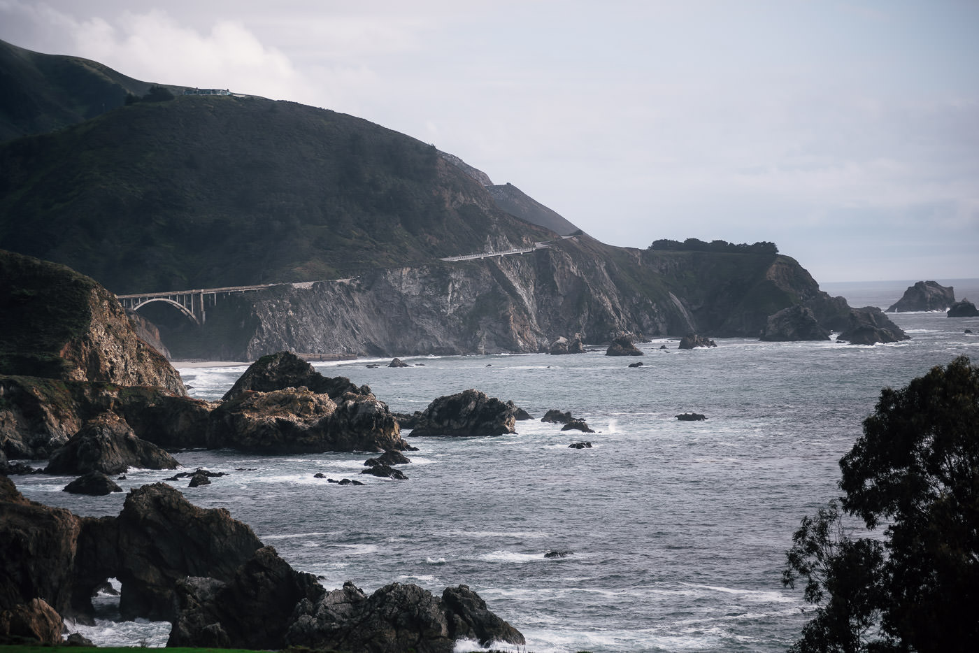 The stunning coastline of Big Sur is an unforgettable sight