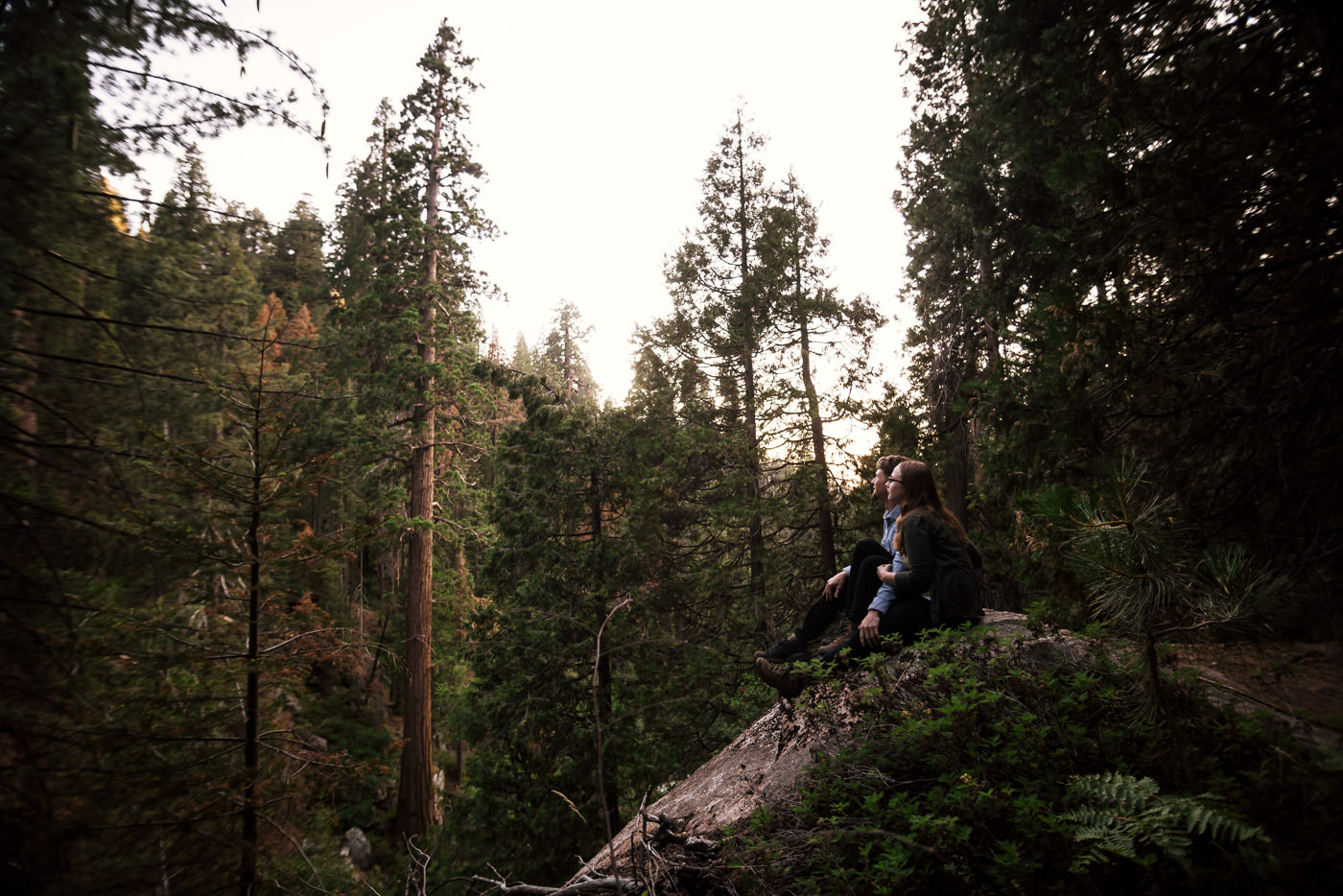 Sequoia National Park is an outdoor lover's perfect elopement destination in California.