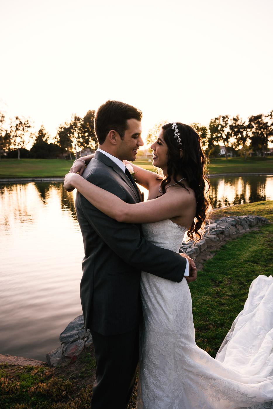 Placentia's best wedding photographers.