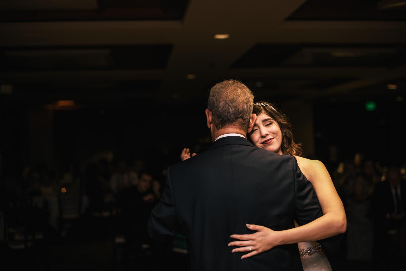Wedding reception at the Alta Vista Country Club.