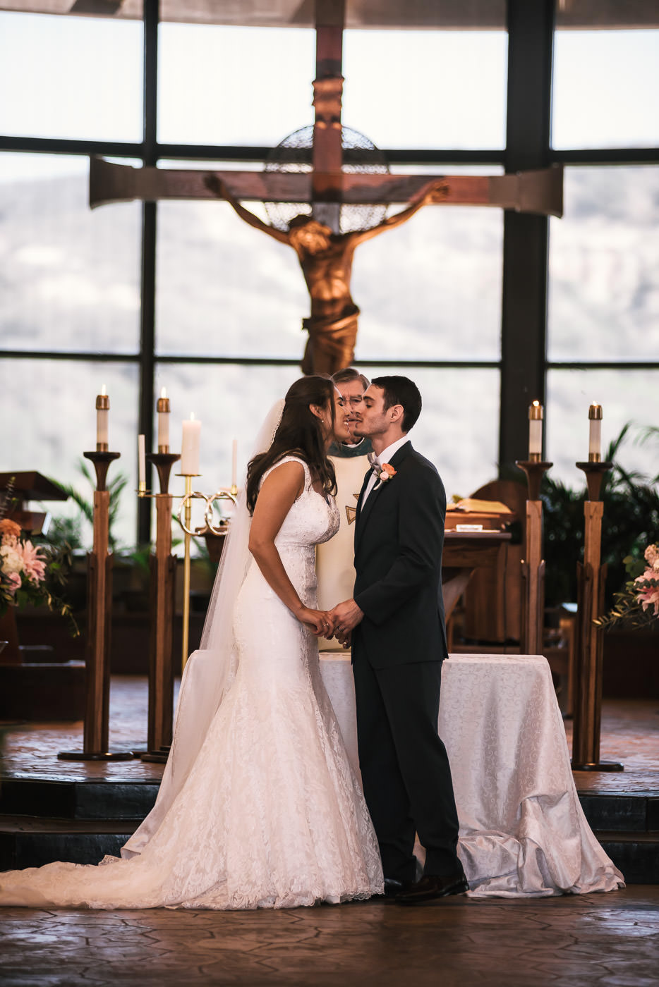 St Therese Carmel Church wedding photographer.