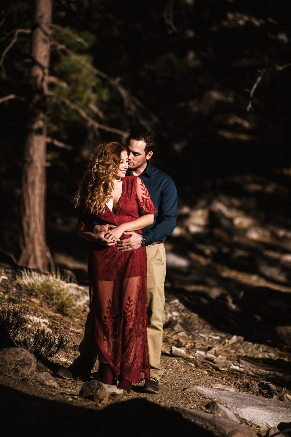 Romantic portraits for couples wildly in love.