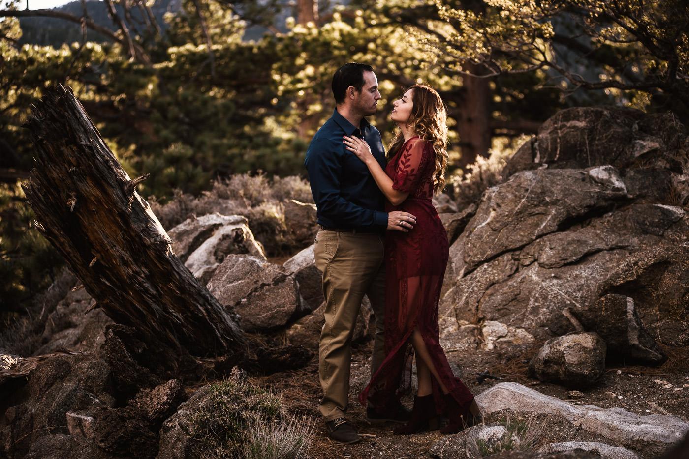 Engagements for adventurous couples.