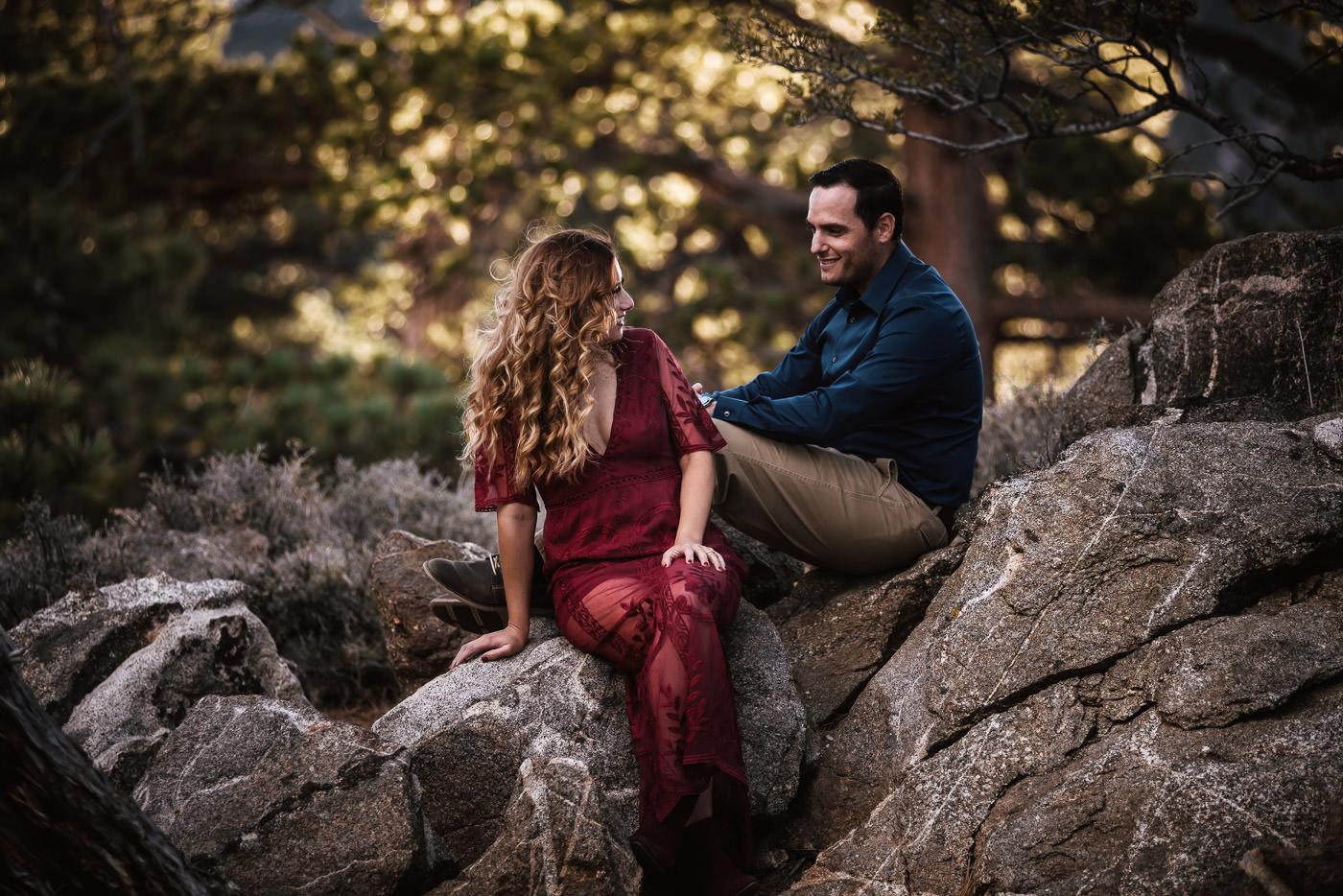Engagement photographers near Palm Springs.