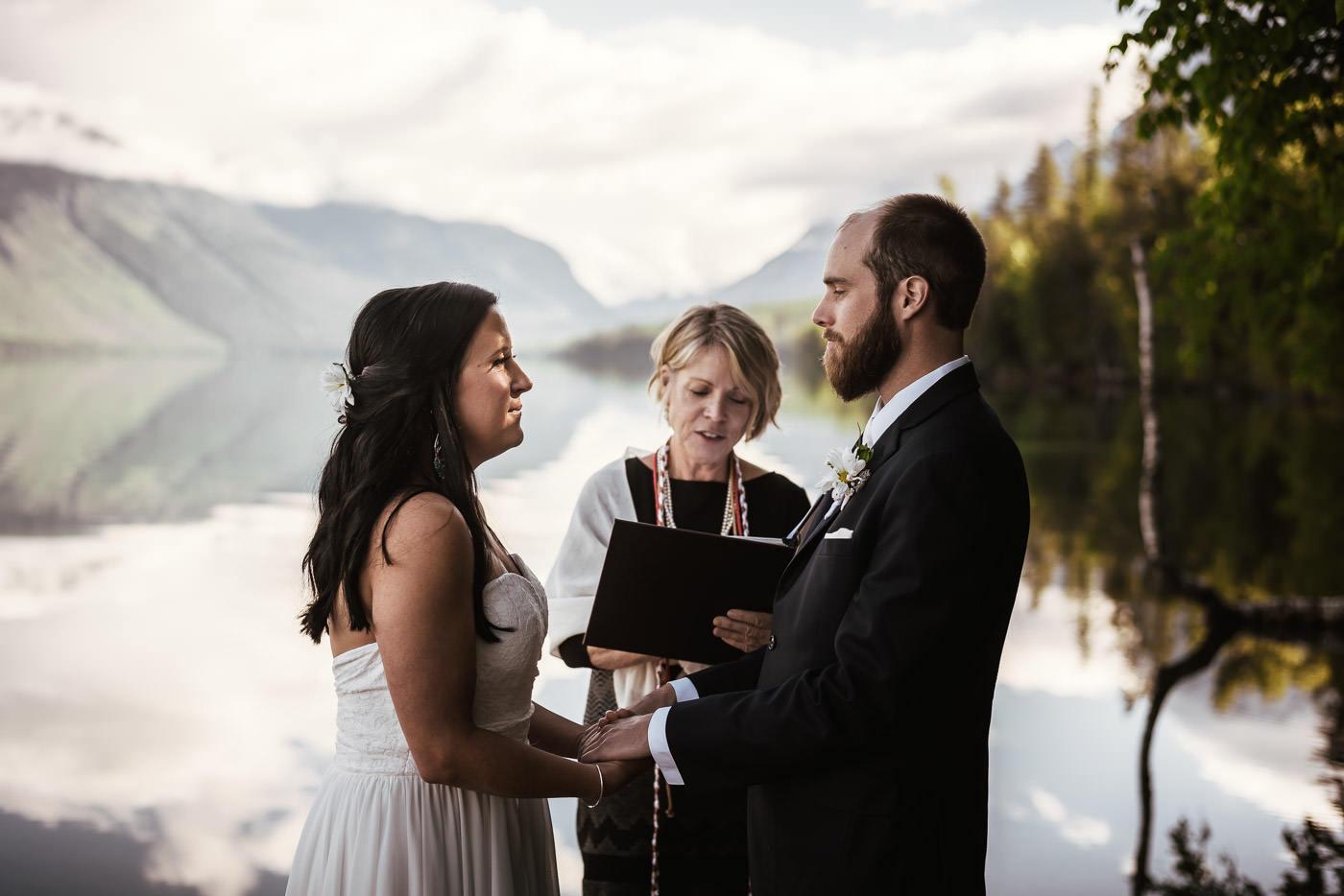 Adventurous elopement photographer in Montana.
