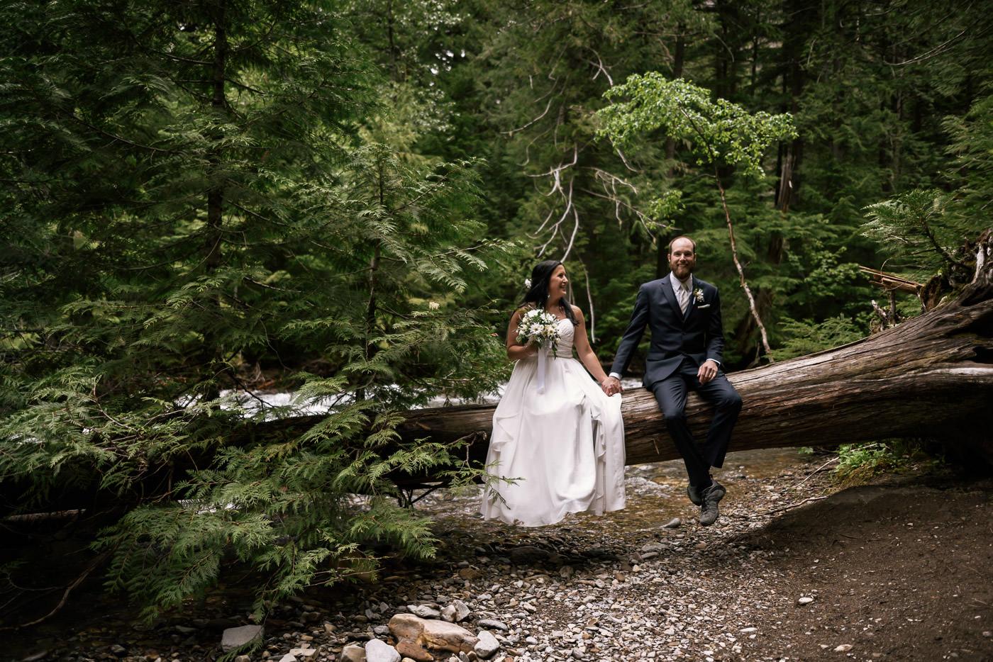 Glacier National Park elopement photographer.
