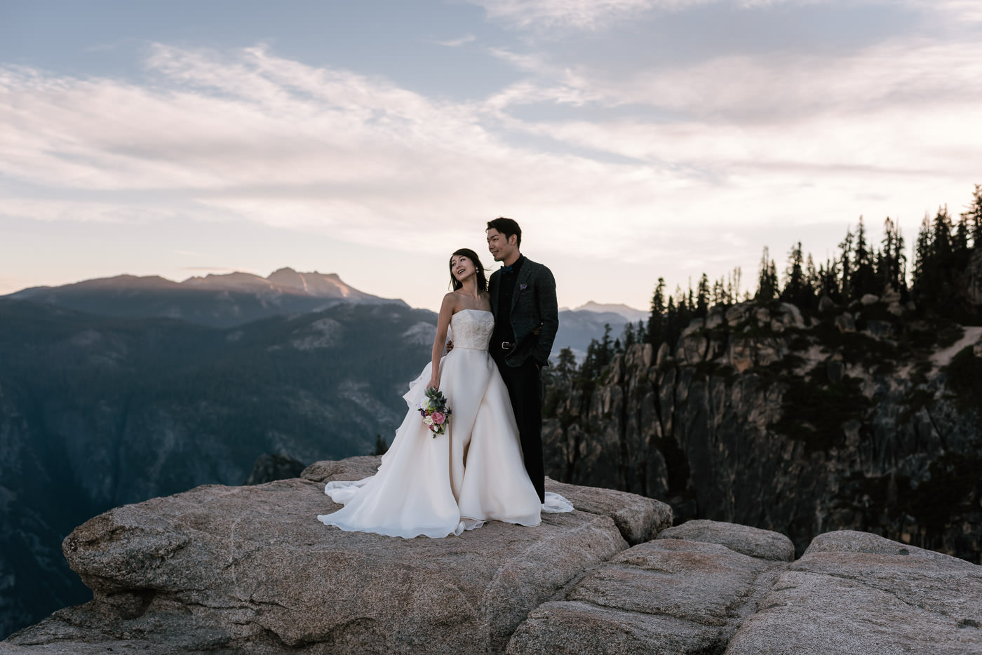 Best national park wedding photographers in the United States.