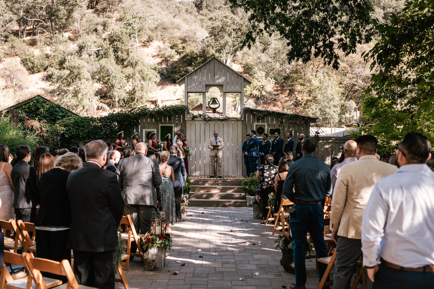 The Homestead at Wilshire Ranch is a rustic wedding venue in California's Oak Glen that is second to none.