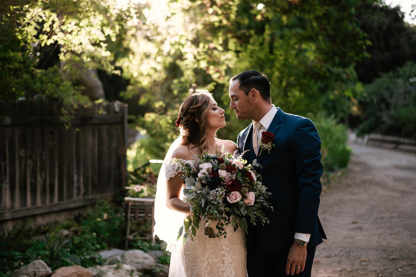 Wedding photographers near The Homestead at Wilshire Ranch in Oak Glenn.