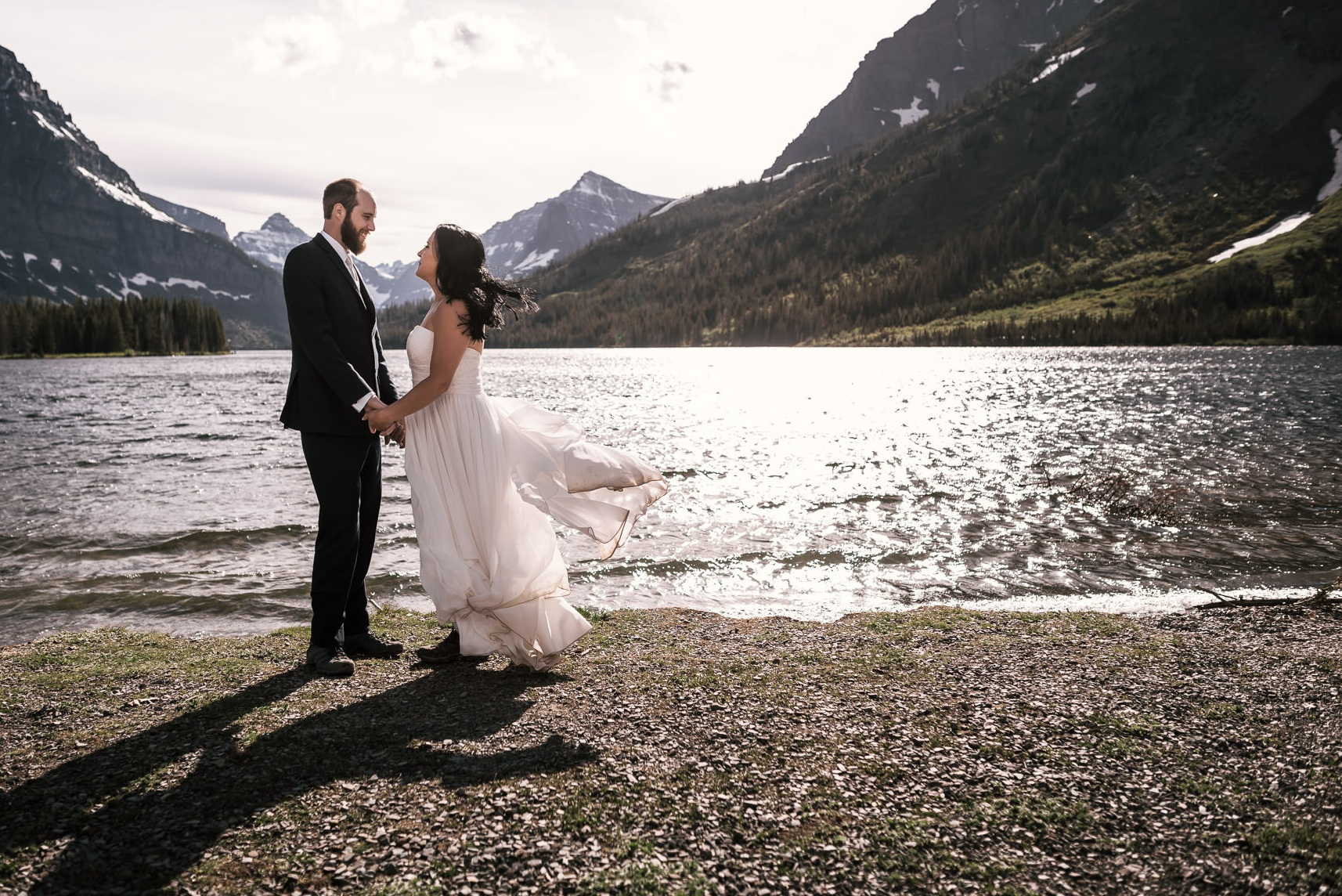 - Where to start? Norm flew all the way to Glacier NP to photograph our elopement. He did this without a hestiation at all. The day before our service he spent his whole time scouting out locations for our pictures to be taken even in the rain and wind. On the day of our special event he made us feel as comfortable as possible and hung with us from 8am to 9pm!! We hiked up 4 miles round-trip just to get photos at Avalanche Lake. Norm didn't complain a bit and was awesome to hang out and talk with. Norm, thank you for making us feel happy and for being the person we spent our special day with. ;)