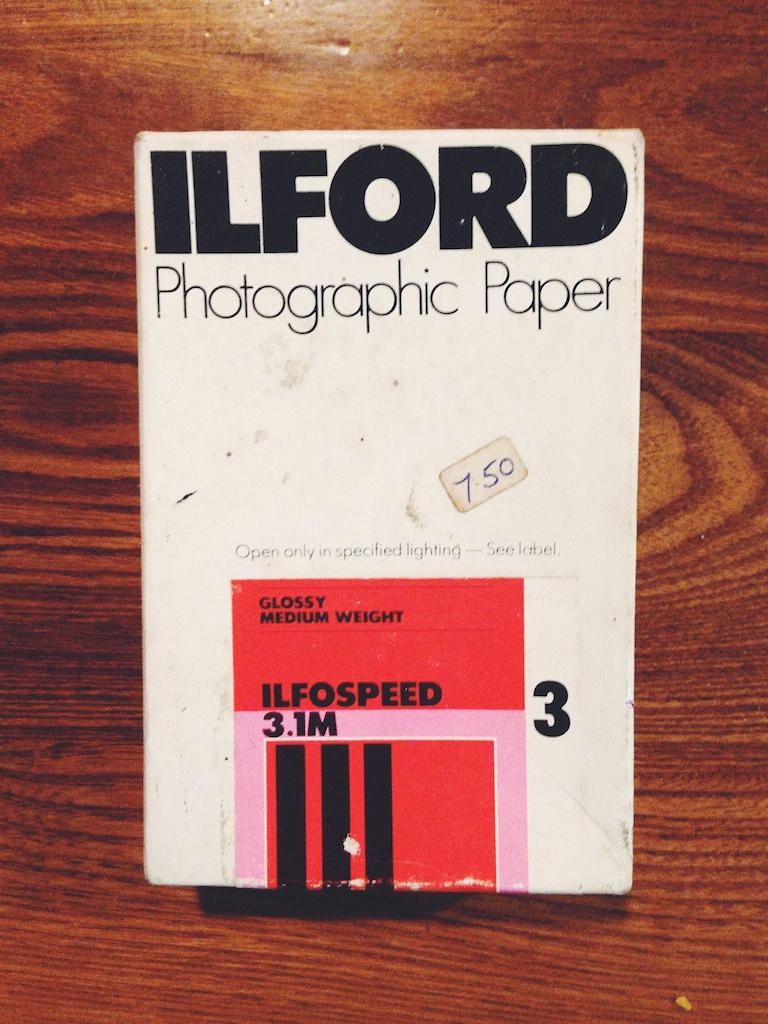 Love this ilford box.