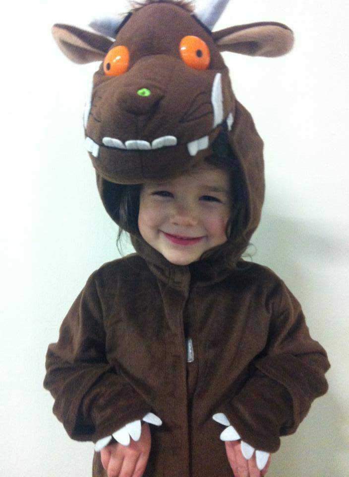 Little Millie as Super Buffalo