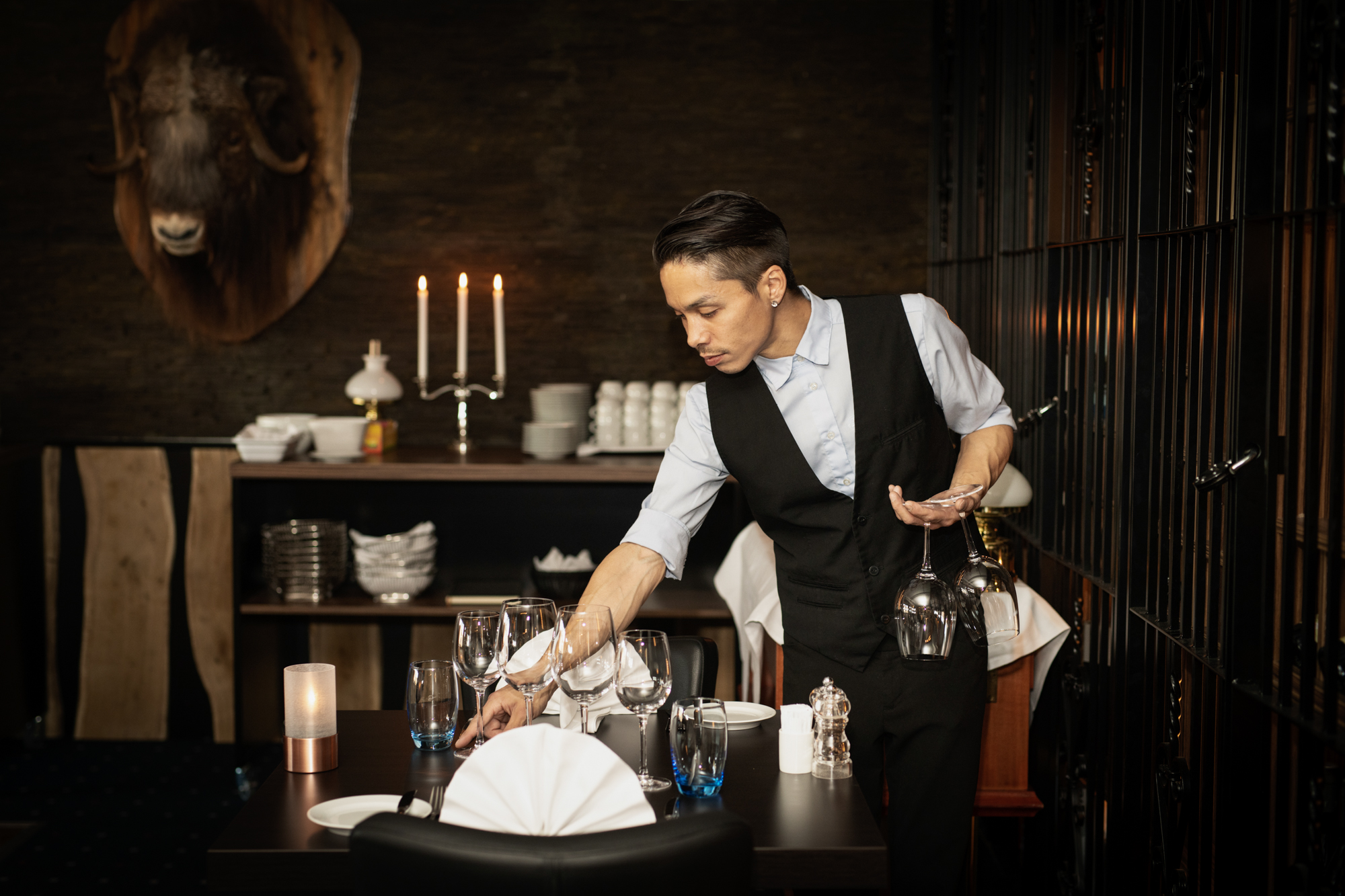 Restaurant Musk Ox for Hotel Kangerlussaq