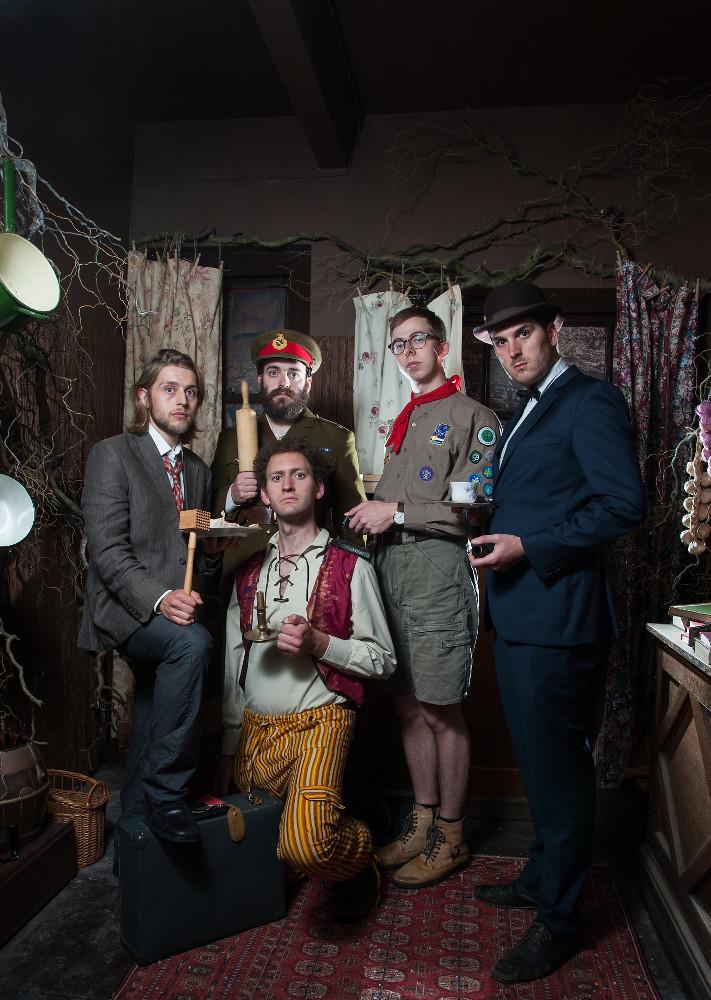 Racing Minds are (Clockwise from left) Tom Skelton, Dougie Walker, Chris Turner, Daniel Roberts &  Dylan Townley.