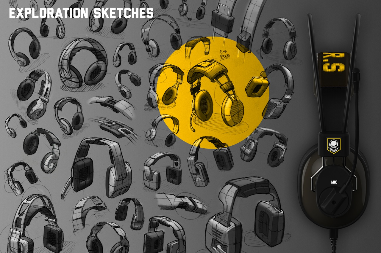 Exploratory sketching lets us generate lots of configurations and shapes quickly.