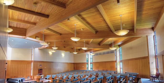 Unitarian Church Gallery   Designed by: Albis Turlington / Richard Turlington