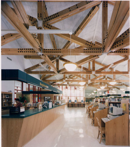 Gerritsen Beach Library Gallery   Designed by: John Ciardullo Associates Architects/ Planners