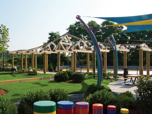Creekside Commons  Designed by: Icon Parks Design