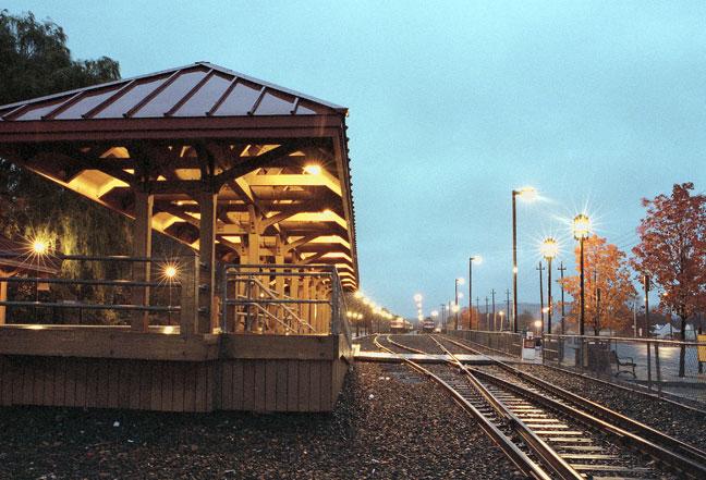 Bradford MBTA Station Gallery