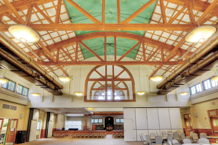 Conservative Synagogue Gallery  Designed by: Jack Dollard