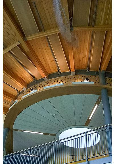 Circular timber framing